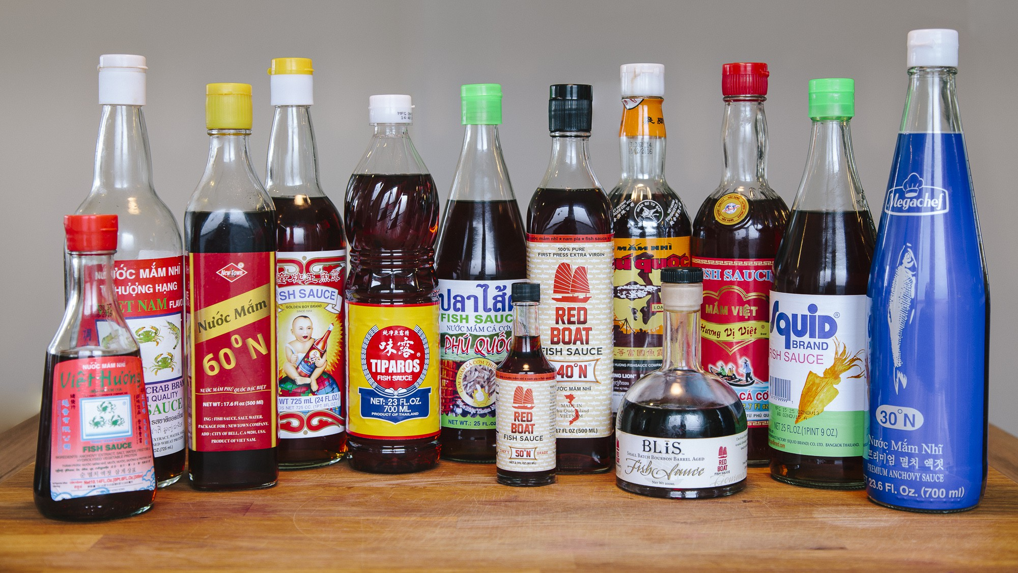 Fish sauce taste test 13 brands compared our daily brine for Korean fish sauce