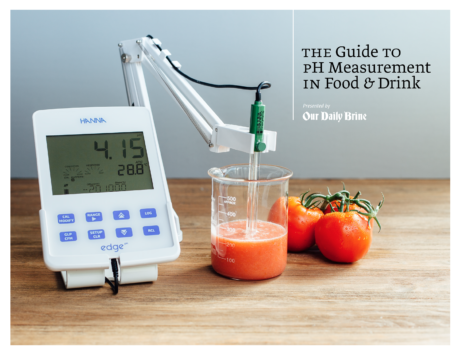 The Guide to pH Measurement in Food and Drink