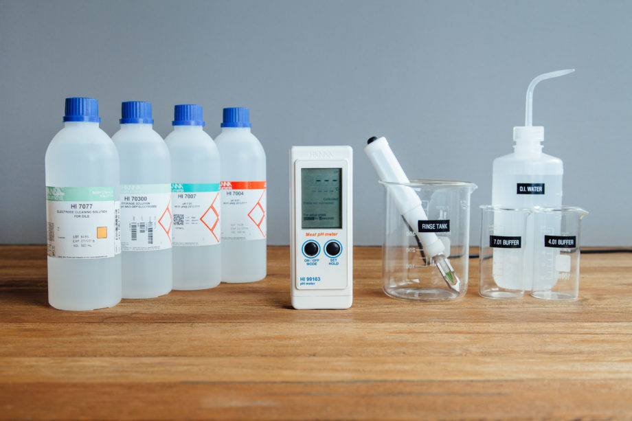 Tools for Measuring pH in Food